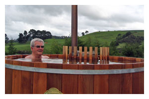 Wood Burning Hot Tub Heater