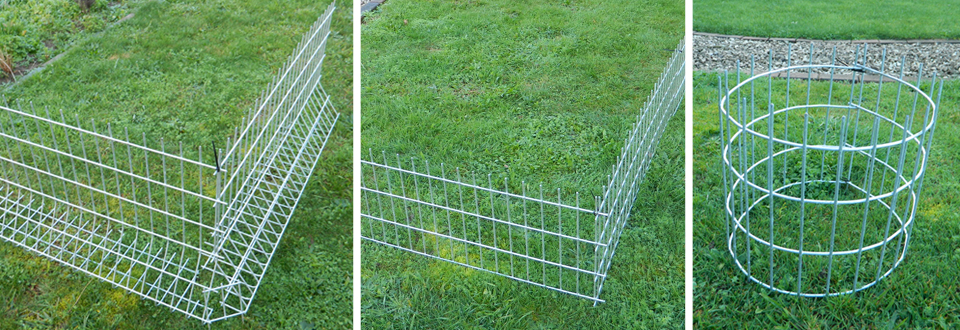 Rabbit Fencing Freestanding Rabbit Fencing Push In